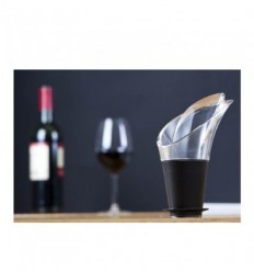 Anti-goutte Wine server crystal Noir Vacuvin (x2)